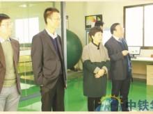 陕西省韩城市委副秘书长金宏平、招商局局长郭玲莅临指导