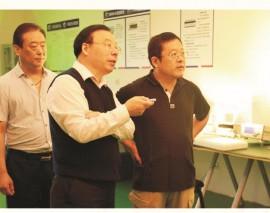国家工信部科技司副司长阮汝祥莅临指导